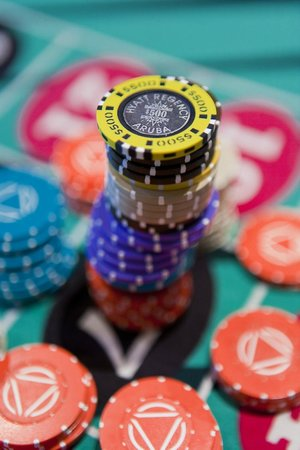 Casino at the Hyatt Regency Aruba: This could be yours