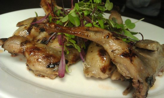 Dally in the Alley Bistro: Grilled Quail