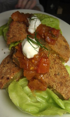 Dally in the Alley Bistro: Fried Green Tomatoes