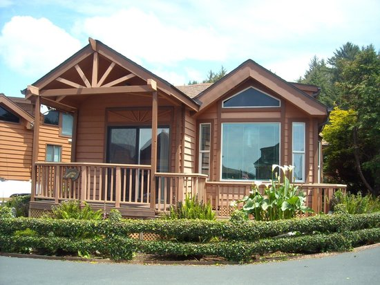 White Rock Resort: beautifully appointed cabins
