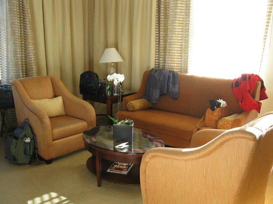 Hotel Teatro:                   Corner suite