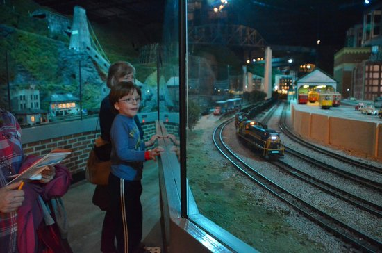 EnterTRAINment Junction:                                     My son loves this place...day and night!