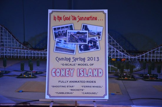 EnterTRAINment Junction:                                     Coming Soon: Coney Island!