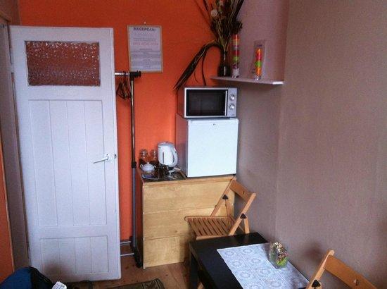 Euro Hostel Krakow:                   Wohnbereich