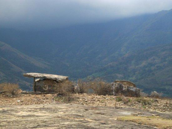 Muniyara Dolmens:                   Dolmen at long shot