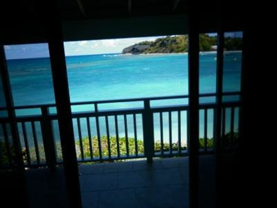 Pineapple Beach Club Antigua:                   View from room