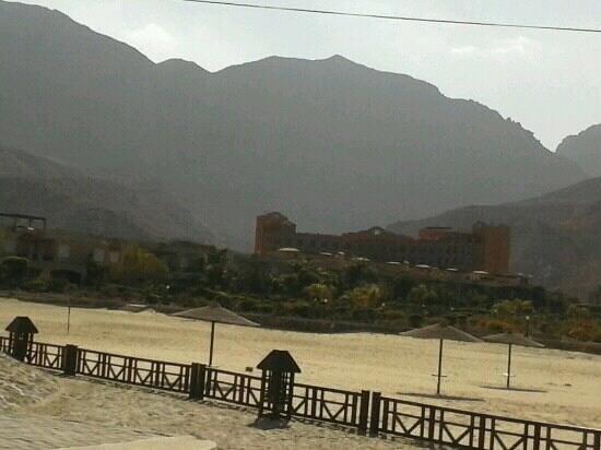 Movenpick Resort El Sokhna:                                     The main bldg. (view from El Jazera)