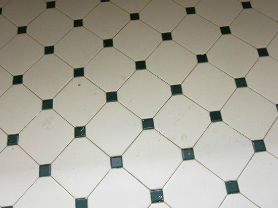 La Quinta Inn Corpus Christi North:                   paint on tile floor in bathroom