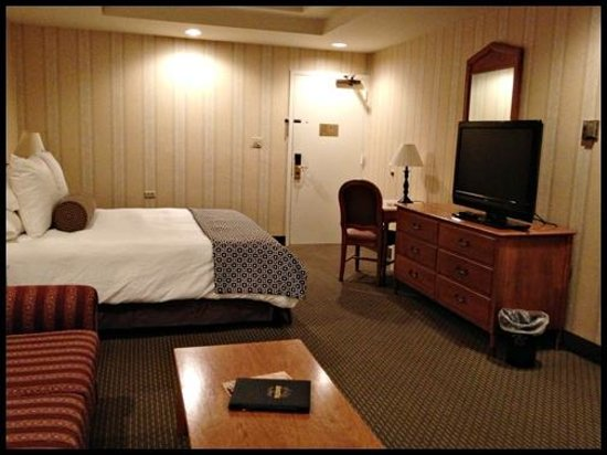 Empress Hotel - A Greystone Hotel:                   Room – 514 – The Empress Room / King bed