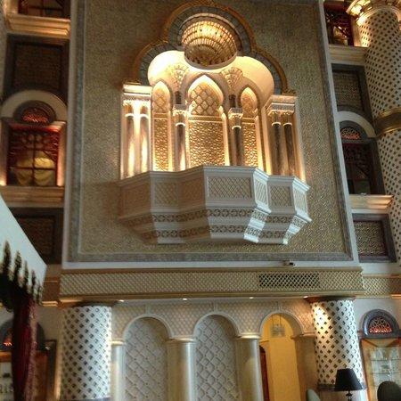 Grand Hyatt Muscat:                   Hotel Lobby