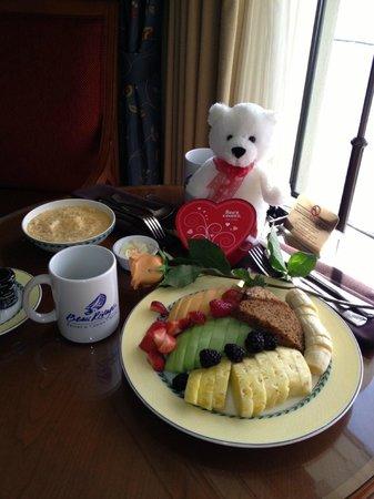 Beau Rivage Resort & Casino Biloxi:                   Valentine's Day Breakfast