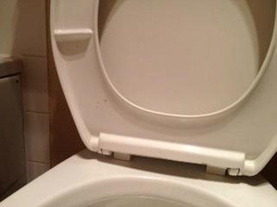 Place St-Bernard:                   Dirty toilet