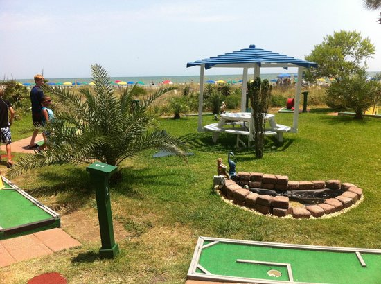 Dunes Village Resort:                                                       mini golf