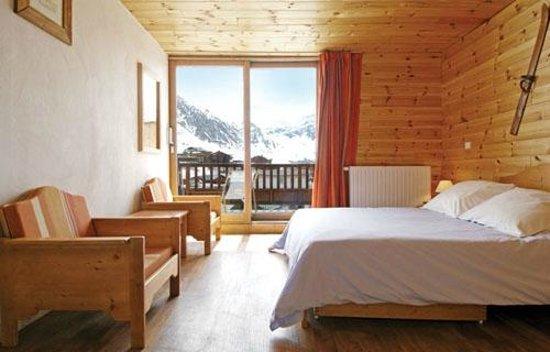 Chalet Alaska : Typical bedroom
