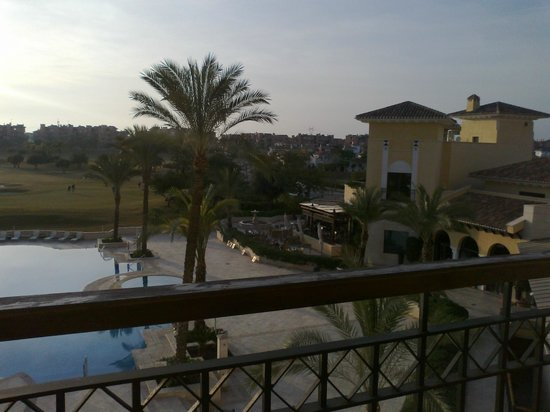 pool to 18th green at sunset picture of intercontinental mar menor rh tripadvisor com