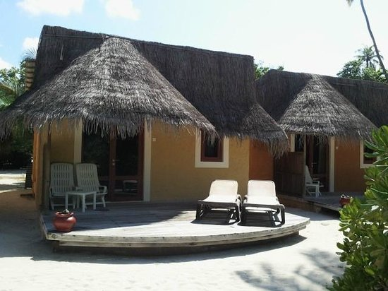 Kuredu Island Resort & Spa:                   Our Garden Bungalow