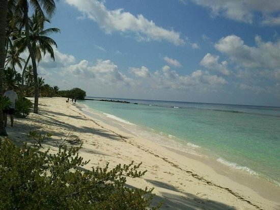 Kuredu Island Resort & Spa:                   East Coast Beach