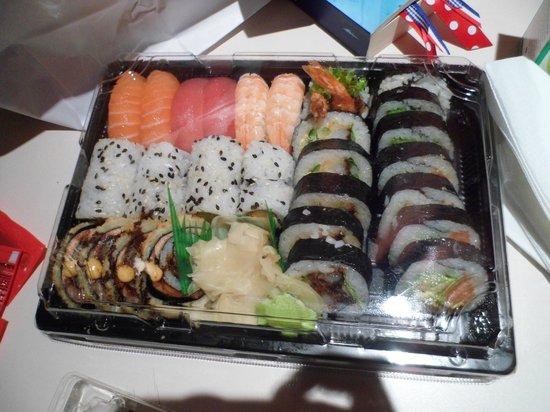 Ocean sushi:                   Sushi afhaal