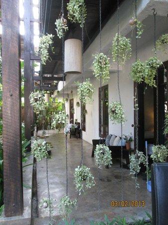 BanThai Village:                   Accés aux chambres