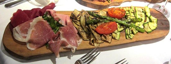 Pescatori Fish & Seafood Restaurant Mayfair :                   Shared Antipasto for 2