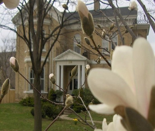 Spring at Hughson Hall