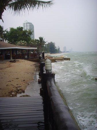 The Regent Cha Am Beach Resort:                   beach view                 