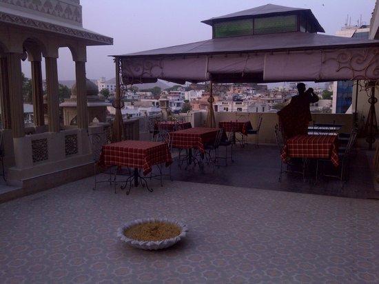 Nahargarh Haveli:                   Resturante