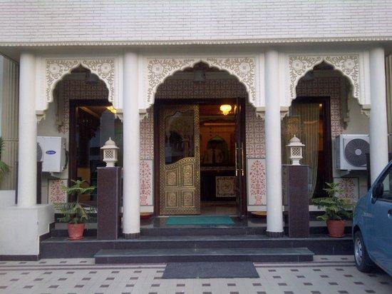 Nahargarh Haveli:                   desde fuera