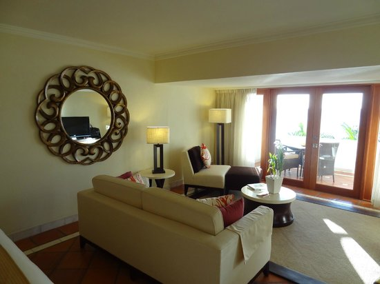 The House by Elegant Hotels:                   Suite 268: the sitting area and view beyond.