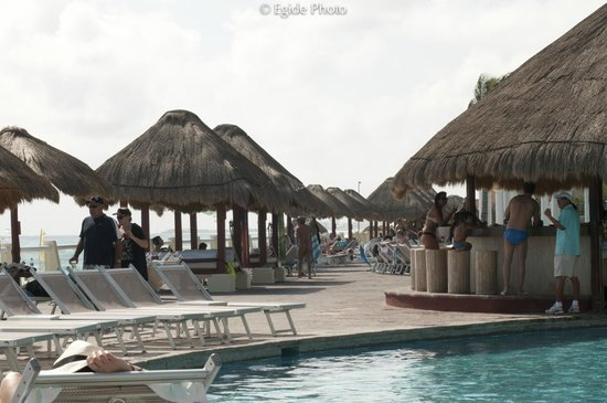 Paradisus Cancun:                   You can reserve your Cabana...