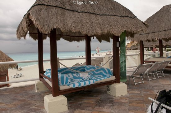 Paradisus Cancun:                   Cabana with a view perfect for the beach and Pool...