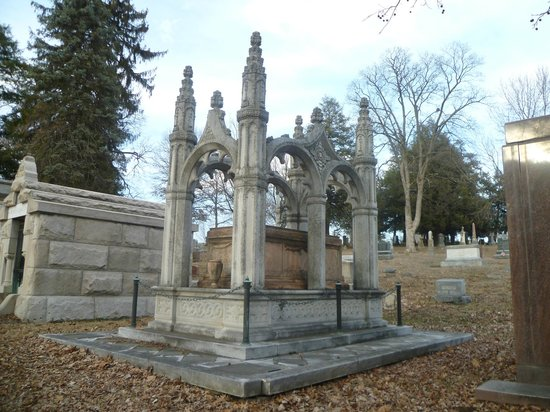 Mount Mora Cemetery:                   Old Crypt