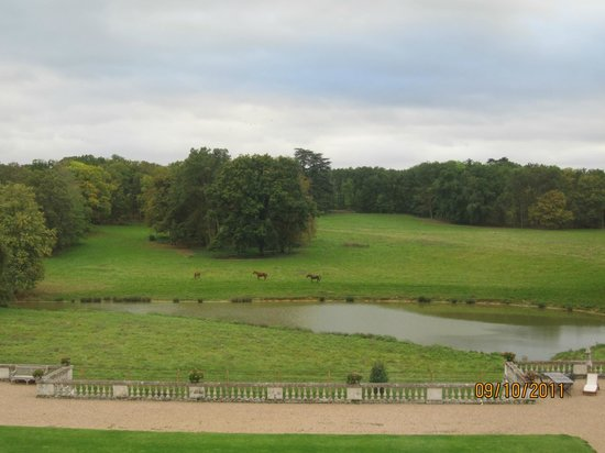 Chateau des Arpentis:                   View from the room