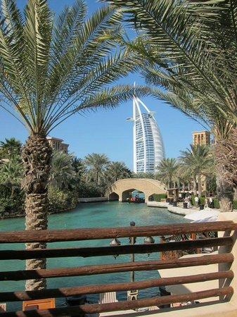 Burj Al Arab Jumeirah:                   A view from Madinat Souk