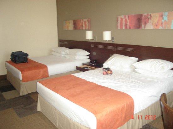 Atton Hotel El Bosque:                   habitacion amplia