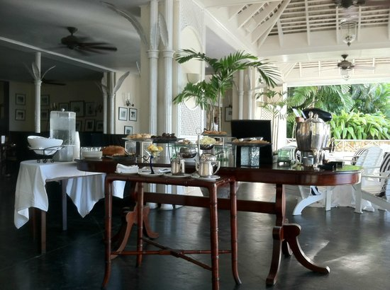 Round Hill Hotel & Villas:                   Afternoon Tea