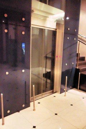 Hotel Oktyabrskaya:                   Elevator