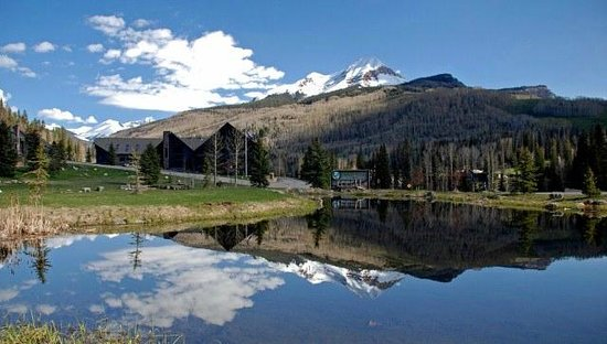 Cascade Village: Engineer Mountain:  The Pond & The Meadows View