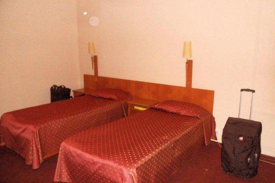 Hotel Oktyabrskaya:                   Room view 2