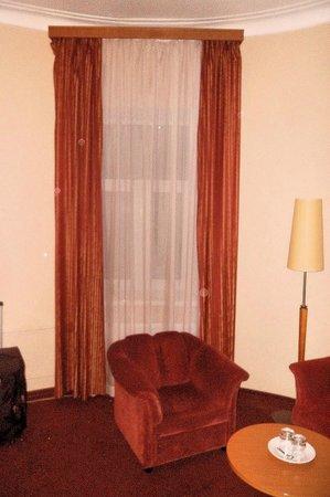 Oktyabrskaya Inn:                   Room view