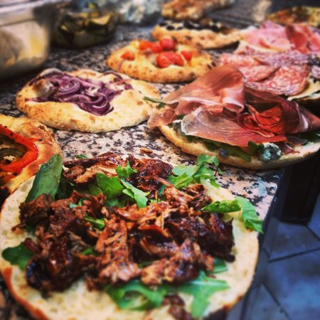 Pappa Ciccia-Fulham High Street:                                     The truly home made focaccias and panini !!!