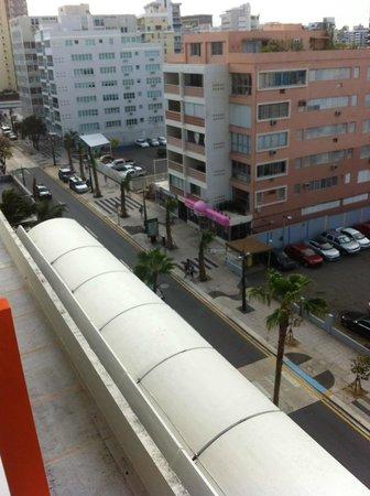 La Concha Renaissance San Juan Resort:                   1 Bedroom Suite City View Street View