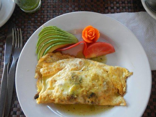 Hotel Villablanca Huatulco:                   Villa Blanca Omlette
