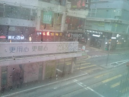 Causeway Bay Inn:                                     view outside room no 2