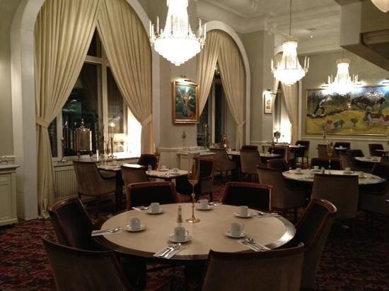 Grand Hotel Lund:                   matsalen