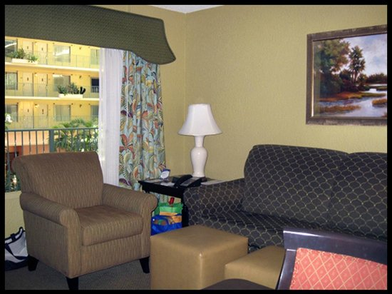Embassy Suites by Hilton Fort Lauderdale 17th Street:                   ROOM: 227 - 2 Queen Bed Suite  - Living Room