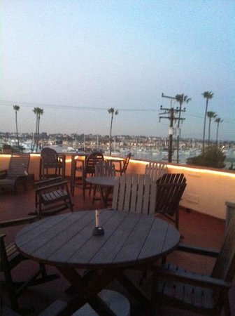 Bay Shores Peninsula Hotel:                   Rooftop Deck