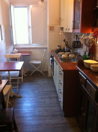 Campanella 3 :                   I like the kitchen!!!!! :)