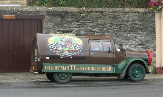 The Bay Hotel:                   Bushy's Beer van
