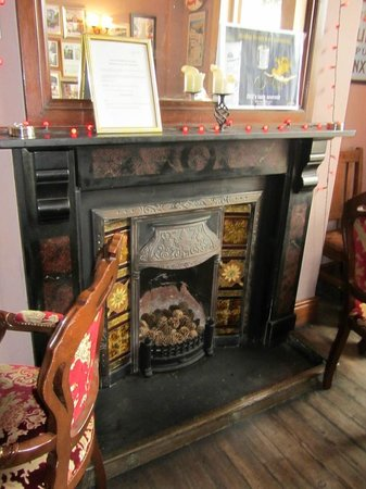 The Bay Hotel:                   Fireplace